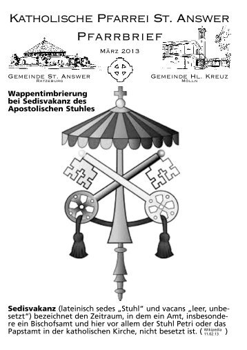 aktuellen Pfarrbrief - Pfarrei St. Answer - Jugendzeltplatz am ...