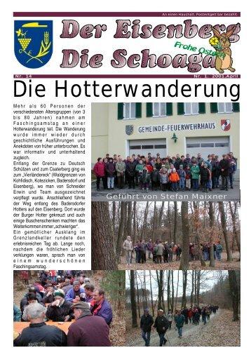 Die Hotterwanderung - Gemeinde Deutsch Schützen Eisenberg