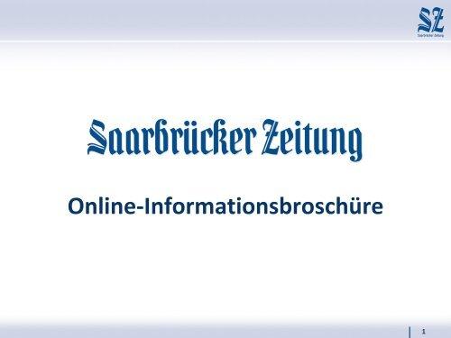 Saarbrücker zeitung stellenanzeige