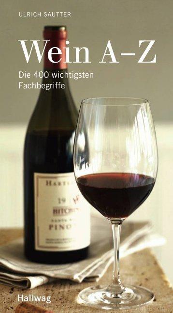Wein A–Z