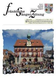 FSZ 3/2011 - Fränkischer Sängerbund