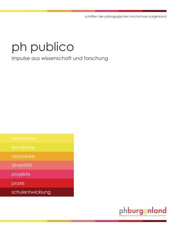 PH Publico 1 - Pädagogische Hochschule Burgenland