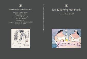 Das Küferweg-Weinbuch - Stefan Keller & Partner