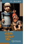 Programm 2012 - Figurentheatertage - Stadt Göttingen