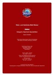 Katalog für Kategorie: Bayrische Spezialitäten - The Whisky Trader