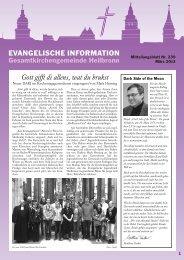 Kirchenblatt 2011_QX-6 - Evangelischer Kirchenbezirk Heilbronn