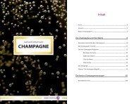 Inhalt - Champagne Françoise Bedel