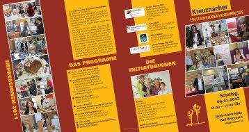 Naturcamps Hunsrück - Kreuznacher Unternehmerinnenmesse