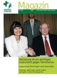 Magazin 03/2003 - Green Cross Schweiz