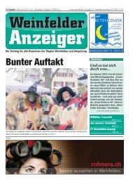 Ausgabe Nr. 19 (11 MB) - Weinfelder Anzeiger