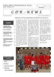 COR-NEWS Nr.14 März 10.pdf - Carl-Orff-Realschule