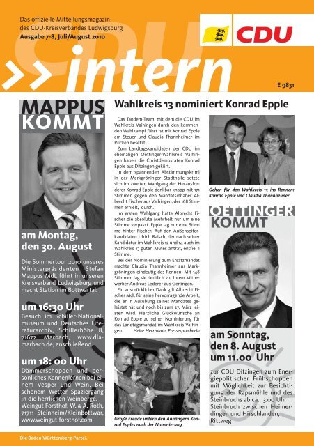klicken - CDU Ludwigsburg