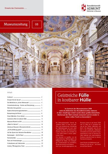 Museumszeitung - Dr. Gerald Unterberger