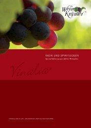 vinalia, ium, n. [lat.] - das weinfest; wein - Wein Krämer
