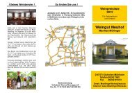 Preisliste 2012 als PDF-Download. - Weingut
