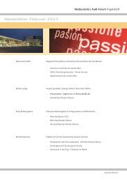 Newsletter Februar 2011 - Donaukurier