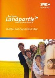 Leckere Landpartie - Hofgut Schleinsee