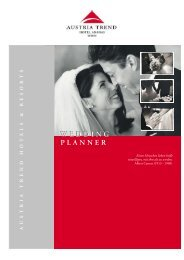 Wedding Planner.cdr - Austria Trend Hotels & Resorts