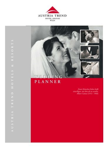 Wedding Planner.cdr - Austria Trend Hotels & Resorts
