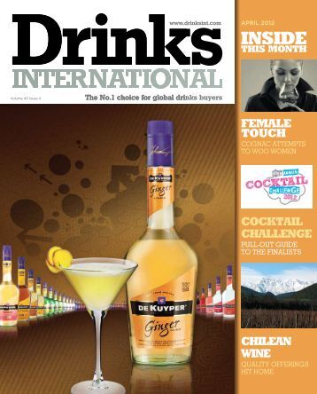 Download the April 2012 issue here - Drinks International