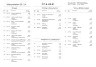 Unsere aktuelle Preisliste als PDF Download