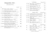 Weinangebot - Weingut Menten