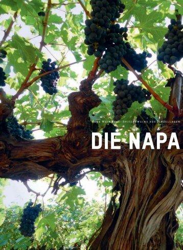 Napa-Terroiristen - Schweizerische Weinzeitung
