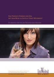 Das Perfekte Dinner von Vox mit dem Wein ... - Ernst Weisbrodt