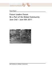 Project report 2011 - Lassalle-Institut