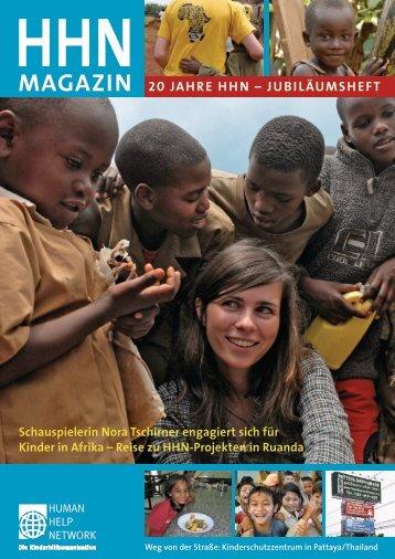 MAgAziN 20 JAHRe HHN – JubiläuMSHefT - Human Help Network eV