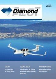 DA50 AERO 2007 Reisebericht - Diamond Aircraft