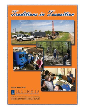 2008 ISGS Annual Report - University of Illinois at Urbana-Champaign