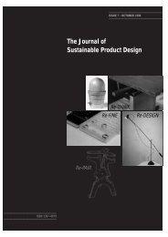 acrobat JSPD 7 - The Centre for Sustainable Design