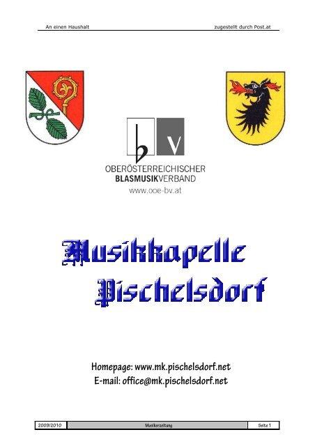 office@mk.pischelsdorf.net - Musikkapelle Pischelsdorf