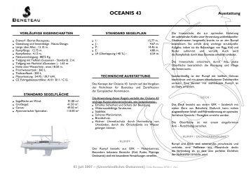 OCEANIS 43 - Graf Yachting