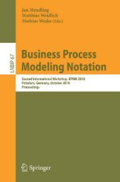 Business Process Modeling Notation (Lecture Notes in Business ...