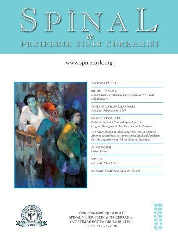 Ocak 2008 - Türk Nöroşirürji Derneği