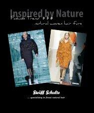 Inspired by Nature - Reinhard Schulte GmbH