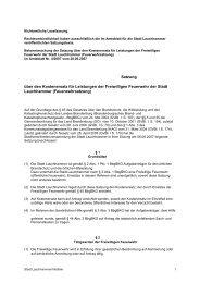 Infothek - 1. Hauptansicht 4. A - Stadt Lauchhammer