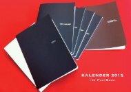 Kalender 2012 - Papermoles