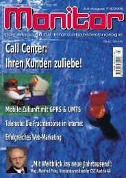 Die komplette MONITOR-Ausgabe 7-8/2000 können