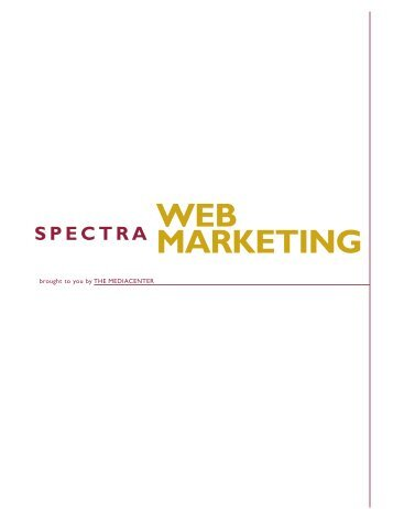 Web Marketing SPECTRA Book - New Page 1