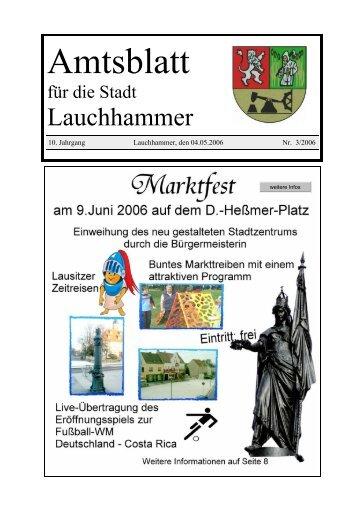 Amtsblatt 03/2006 - Stadt Lauchhammer