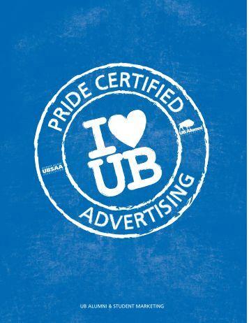 UB ALUMNI & STUDENT MARKETING - UB Alumni Association