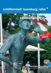 veranstaltungs- highlights - Stadt Lauenburg/Elbe