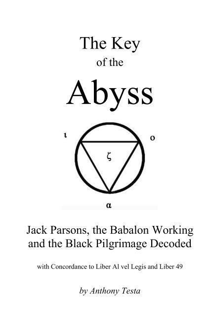 f196bcae4f562 Anthony Testa - The Key of the Abyss.pdf