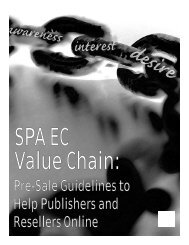 Pre-Sale Guidelines to Help Publishers and Resellers Online