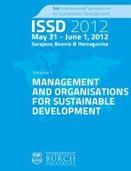 Third International Symposium on Sustainable Development