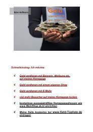 Geld verdienen im Internet – ein Leitfaden - DownloadsKostenlos.de