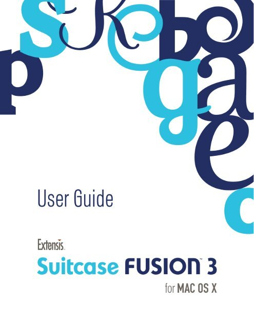 extensis suitcase fusion 4 serial number for mac